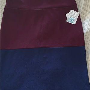 2XL LuLaRoe Cassie Skirt